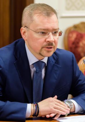 Artem Chayka, ICIE President